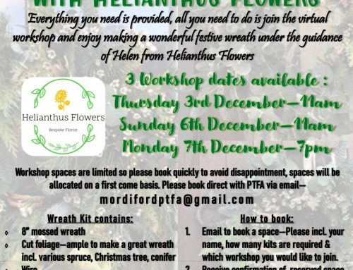 PTFA – Christmas Wreath Workshop
