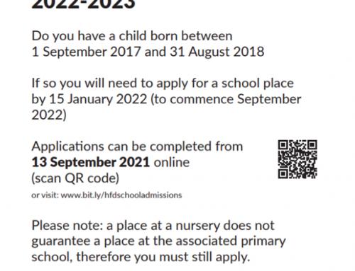 Reception 2022 Applications