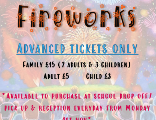 PTFA – Family and Friends Fireworks